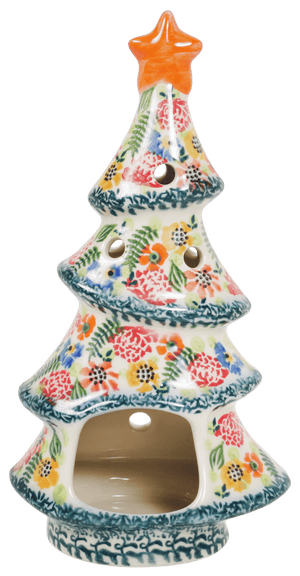 Skinny Christmas Tree Luminary (AE4)