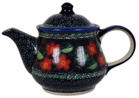 1 Liter Teapot (Midnight Flowers)