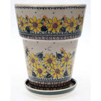 "9.25""tall Flower Pot (ASZ)"