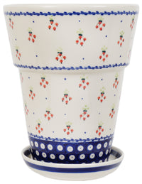 "9.25""tall Flower Pot (PJ)"