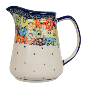 1.3 Liter Pitcher (Rainbow Wreath)