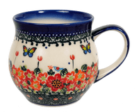 Medium Belly Mug (Butterfly Fields) | GK04-AM