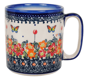 13.5 oz Straight Mug (Butterfly Fields)