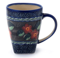 20 oz Tapered Mug - (Midnight Flowers)