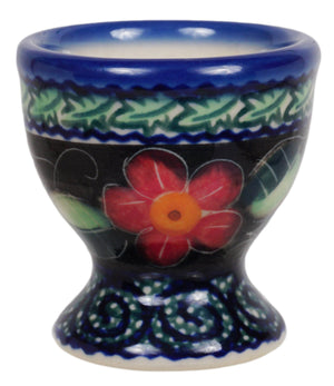 Egg Cup (Midnight Flowers)