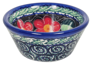 "3.25"" Dipping Bowl (Midnight Flowers)"