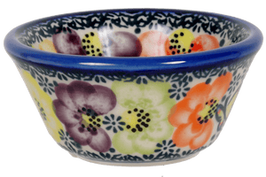 "3.25"" Dipping Bowl (Rainbow Bouquet)"