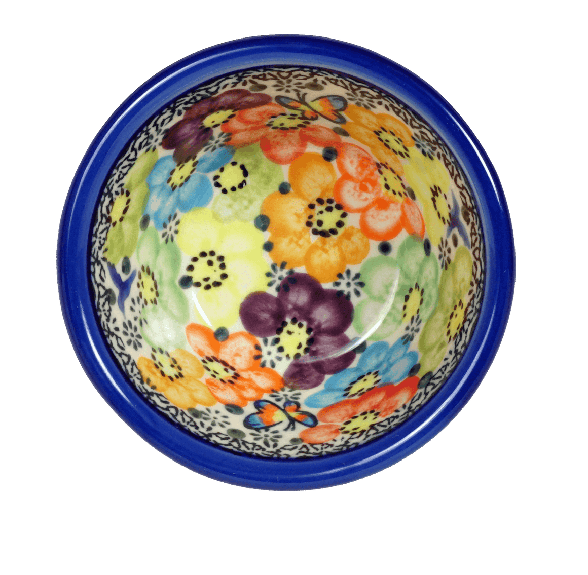 "4"" Dipping Bowl (Rainbow Bouquet)"
