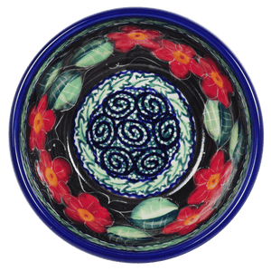 "4.5"" Bowl (Midnight Flowers)"