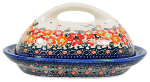 Fancy Butter Dish (Butterfly Fields)
