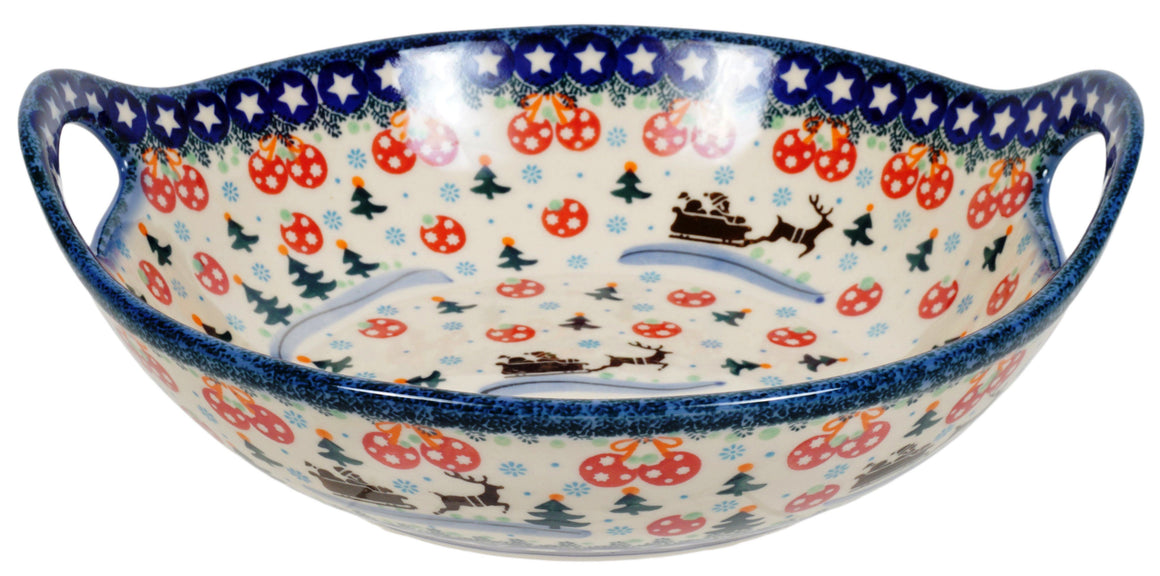 "10"" Bowl with Handles (AS1)"