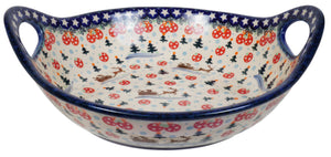 "11.5"" Basket Bowl with Handles (AS1)"