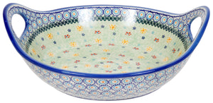 "11.5"" Basket Bowl with Handles (UKL)"