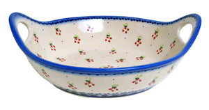 "11.5"" Basket Bowl with Handles (PJ)"