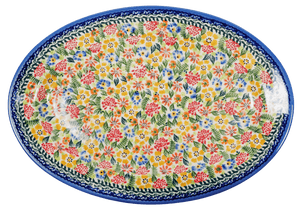 "13"" Oval Platter (AE4)"
