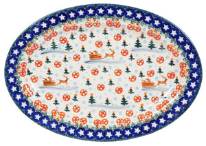 "13"" Oval Platter (AS1)"