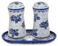 Salt & Pepper Set with Tray (Dreamy Blue)