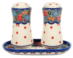 Salt & Pepper Set with Tray (USP)