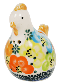 Tiny Chicken Salt/Pepper Shaker (Rainbow Bouquet)