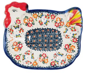 Chicken Egg Plate (Butterfly Fields)