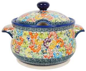 3.2 Quart Tureen (Rainbow Bouquet)