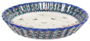 "9.75"" Quiche Dish (Butterfly Fields)"