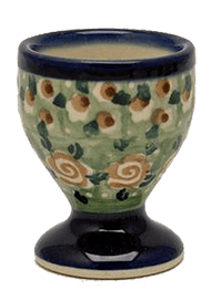 The Polish Pottery Egg Cup (Perennial Garden)