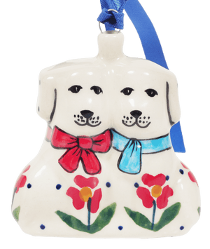 Puppy Pair Ornament (Simply Beautiful)