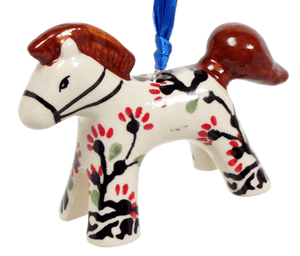Horse Ornament (Cherry Blossom)
