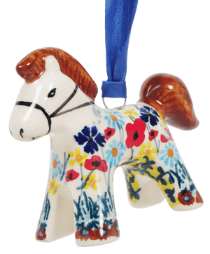 Horse Ornament (Sunlit Wildflowers)