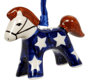 Horse Ornament (Starry Night)