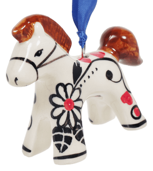 Horse Ornament (Night Garden)