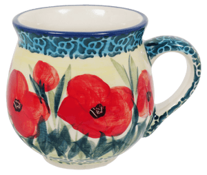 Small Belly Mug (Poppies in Bloom)