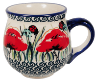 Small Belly Mug (Poppy Paradise) | K067S-PD01