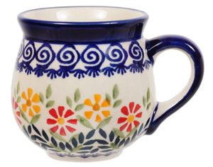 Small Belly Mug (Flower Power)