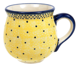 Small Belly Mug (Sunshine Blue Speckle)