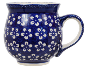 Large Belly Mug (Modern Blue)
