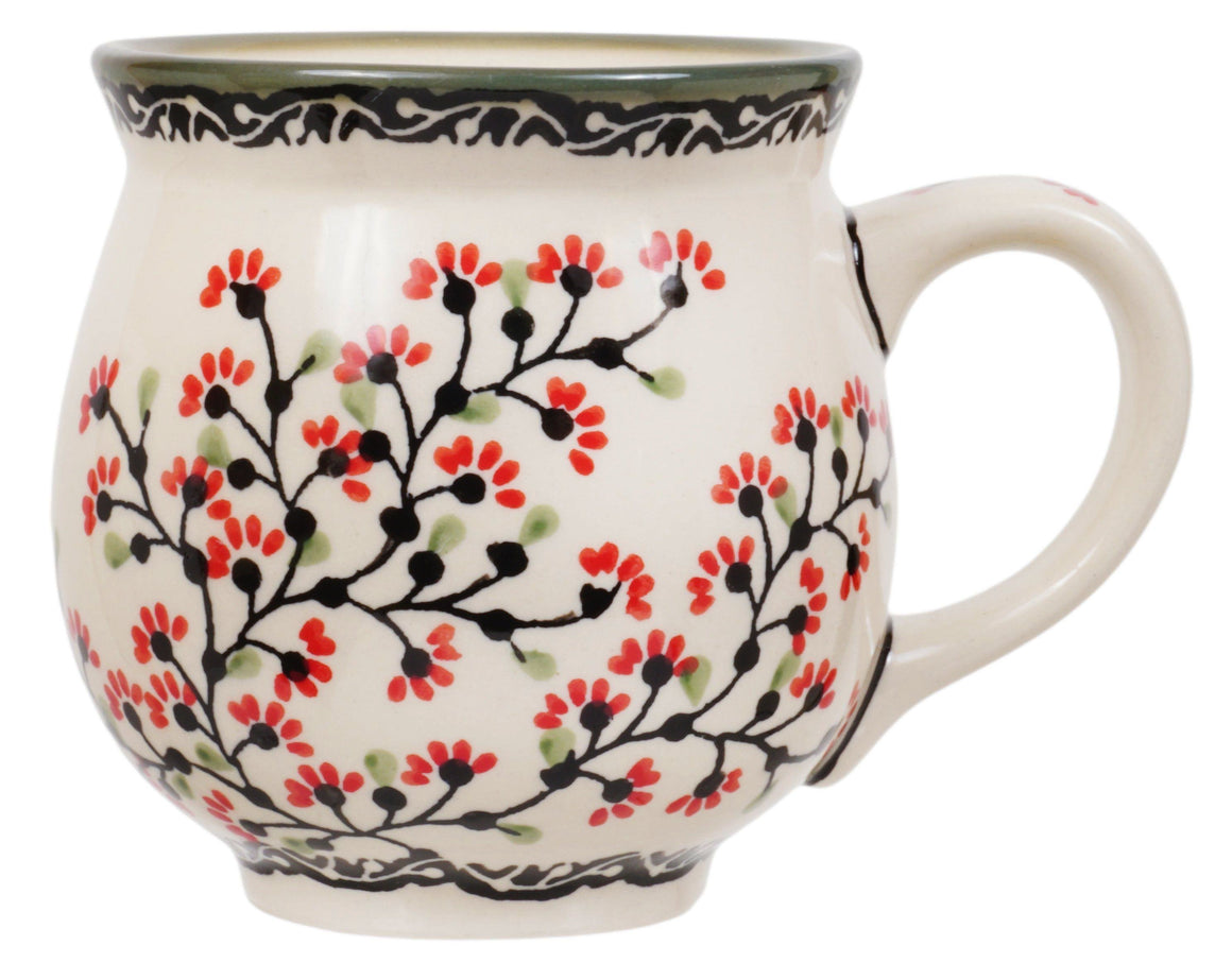 Large Belly Mug (Cherry Blossom)