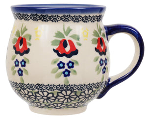 Large Belly Mug (Coral Bells)