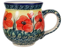 Large Belly Mug (Poppies in Bloom)