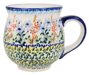 Large Belly Mug (Pastel Garden)