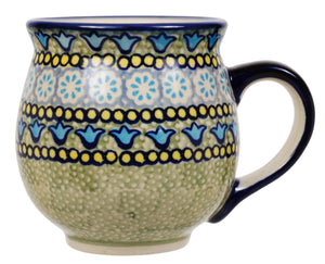 Large Belly Mug (Blue Bells)