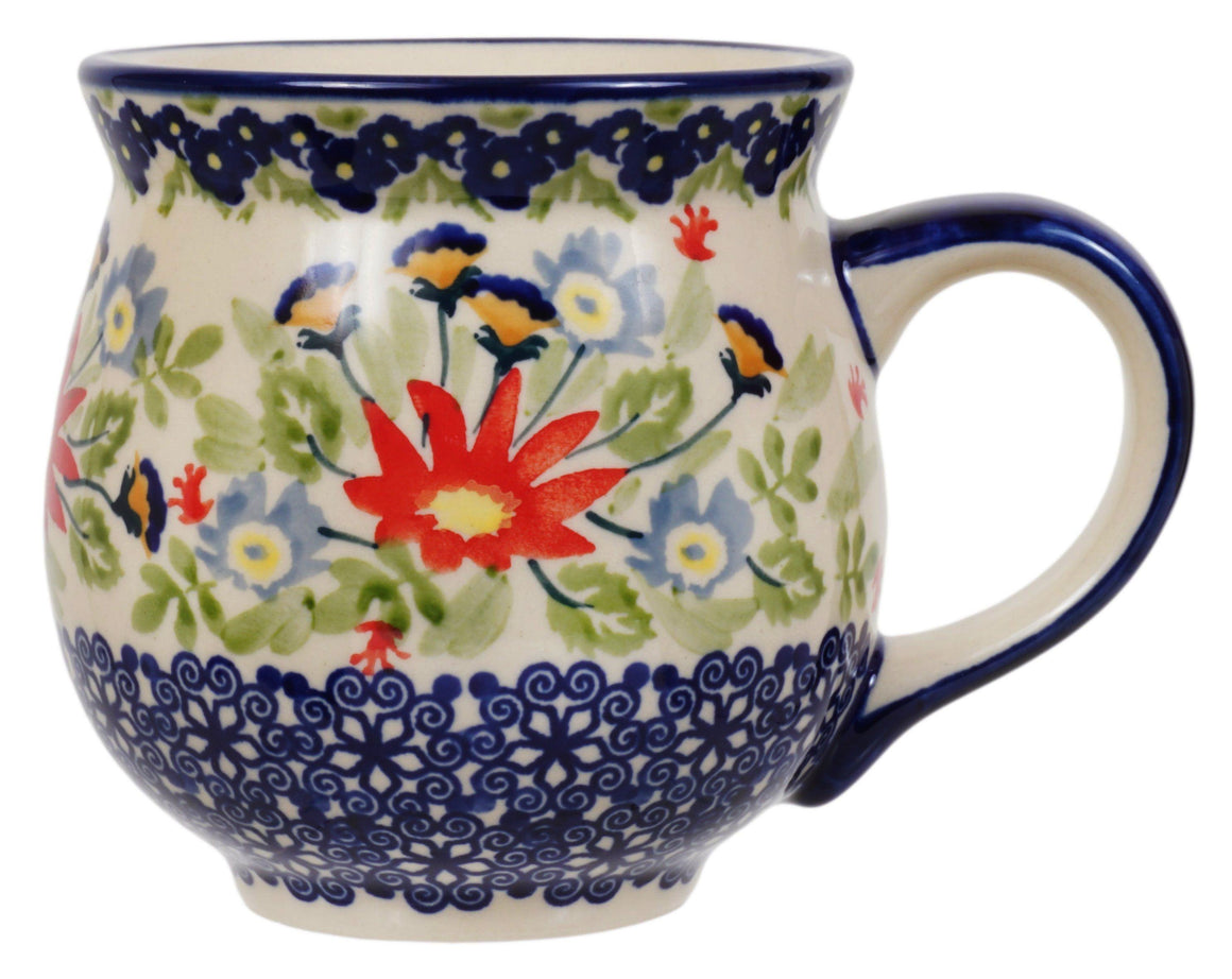 Large Belly Mug (Floral Fantasy)
