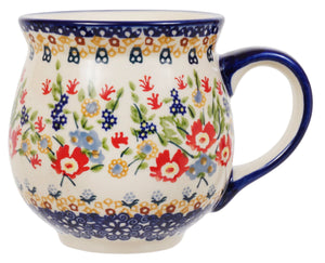 Large Belly Mug (Poppy Persuasion)
