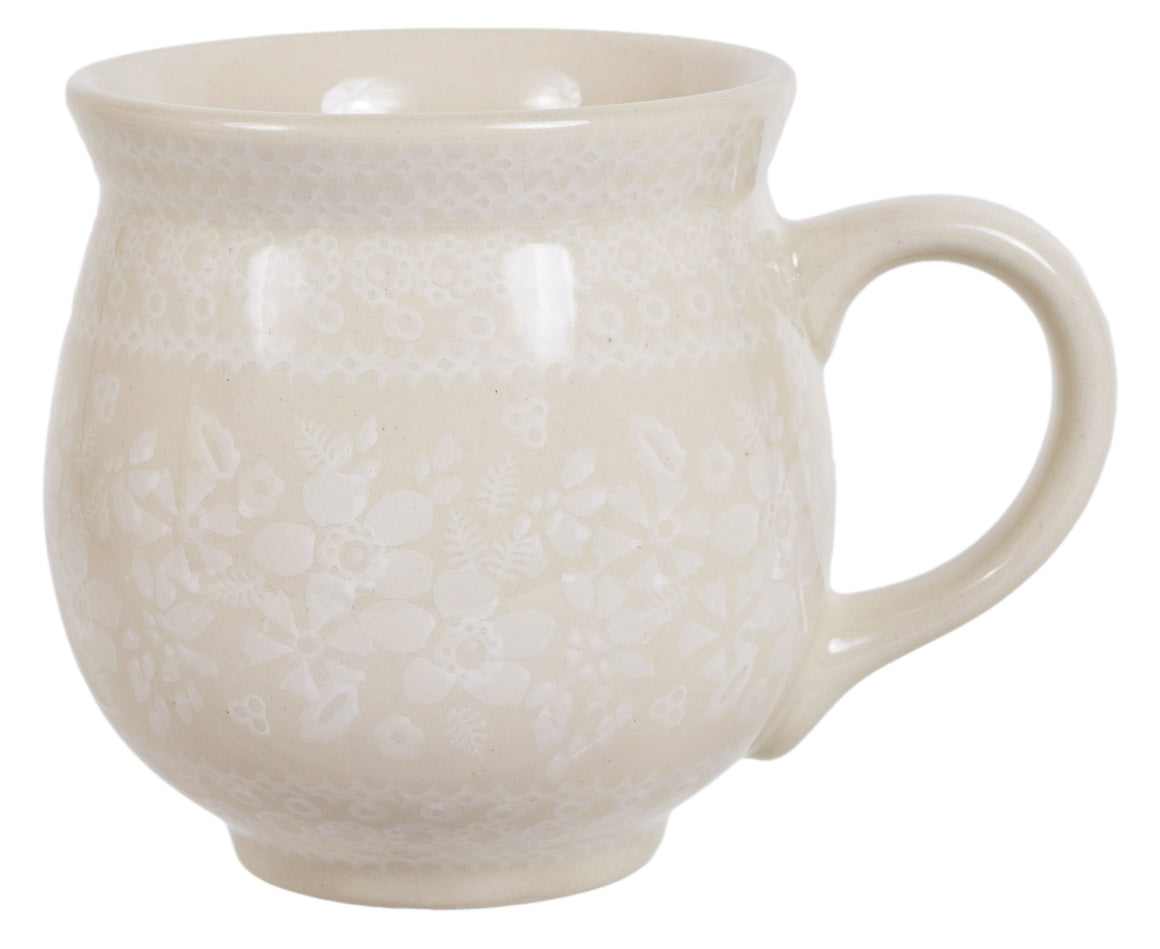 Large Belly Mug (Duet in Lace)