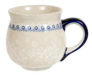 Large Belly Mug (Duet in White)