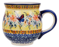 Large Belly Mug (Butterfly Bliss)