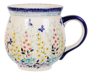 Large Belly Mug (Butterfly Bounty)