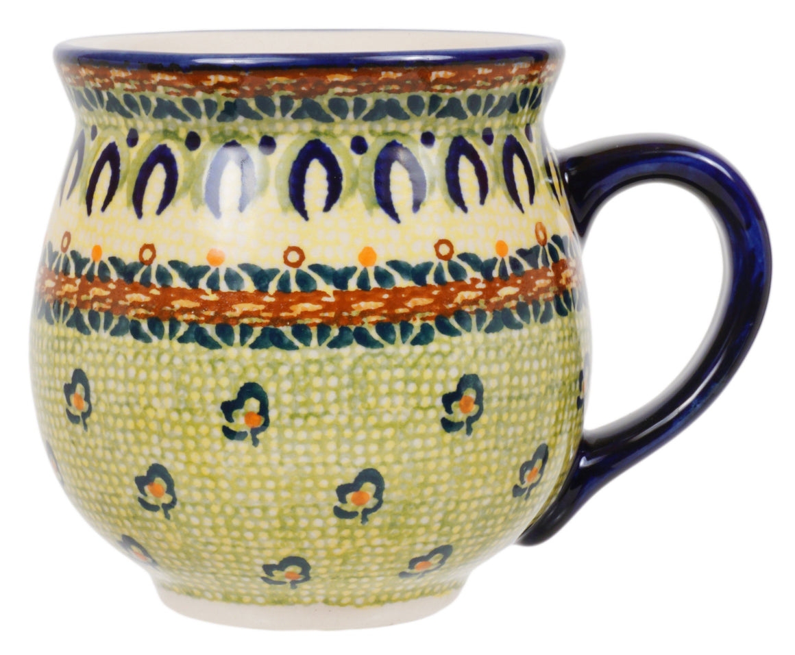 Large Belly Mug (Baltic Garden)
