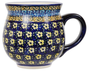 Large Belly Mug (Floral Formation)